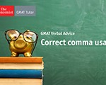 Correct Comma Usage on the GMAT