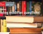 The Fast Way to Solve GMAT Modifier Questions