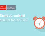 Timed vs. Untimed Practice for the GMAT