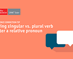 Using Singular vs. Plural Verb after a Relative Pronoun