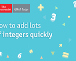 How to Add Lots of Integers Quickly on the GMAT