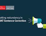Spotting Redundancy in GMAT Sentence Correction