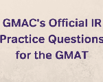 GMAC's Official IR Practice Questions