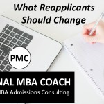 What MBA Reapplicants Should Change