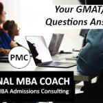 Your GMAT/GRE Questions Answered