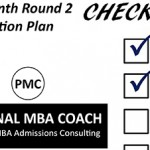 Personal MBA Coach's 4-Month Round 2 Application Plan