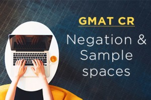 Understanding Negation and Sample spaces