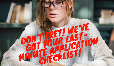 Last-Minute Tips for Round 2 Applicants