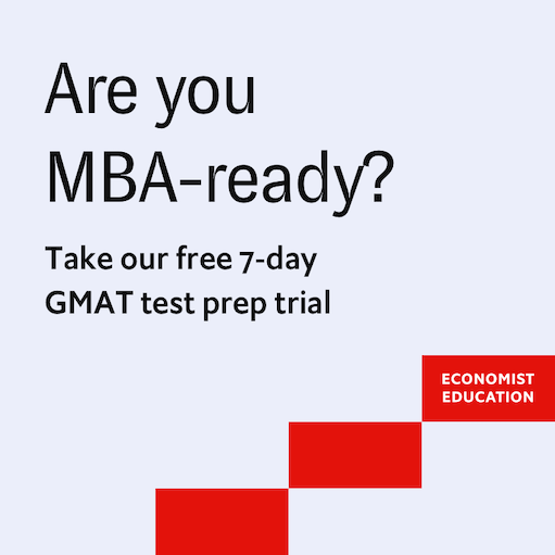 7 Days Free Access to Economist Education GMAT Tutor